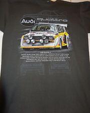 AUDI QUATTRO S1 #2 RALLY CAR PRINTED T SHIRT SMALL-2XL BRAND NEW DESIGN
