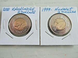 CANADA-TOONIES-GREAT-DUO-1999-2000-NUNAVUT-KNOWLEDGE-RESEARCH
