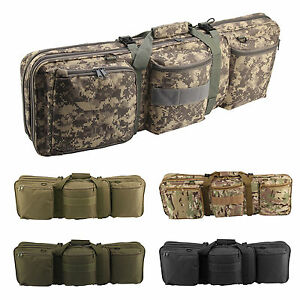 Tactique Sac Chasse Militaire Carry Fusil Gun Tir Case Double D29IYeEWH