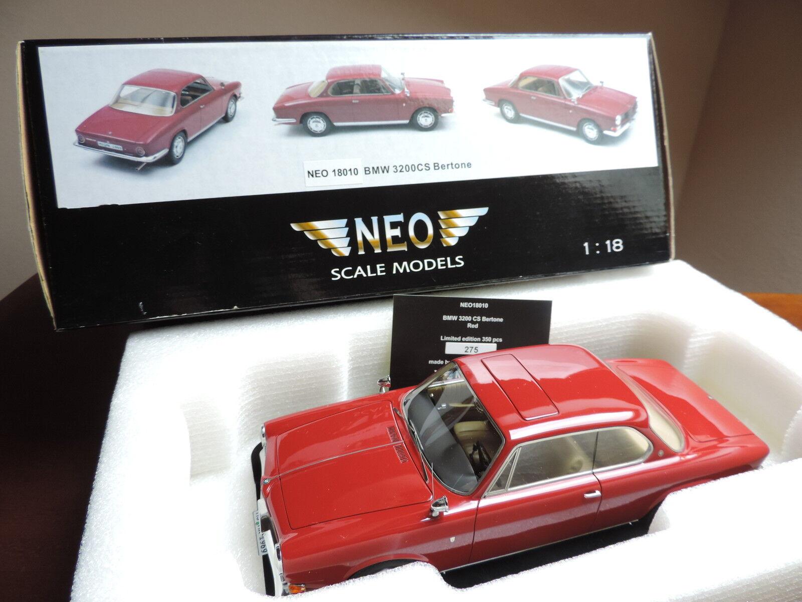 BMW 3200 CS BERTONE 1/18 coupe NEO NEO NEO NEOSCALE no spark GT SPIRIT OTTO OTTOMOBILE bb8449