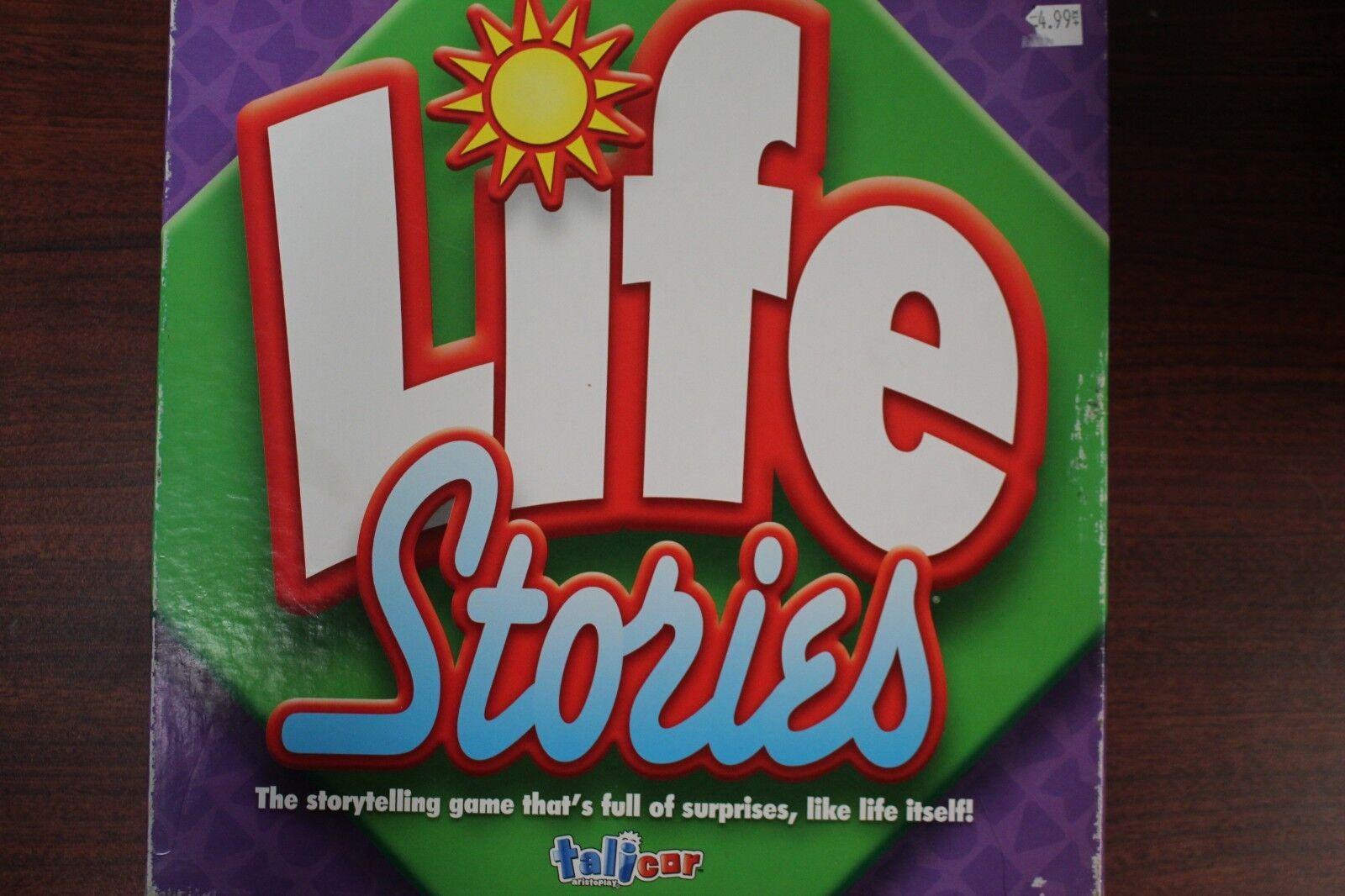 Spel för liv Stories