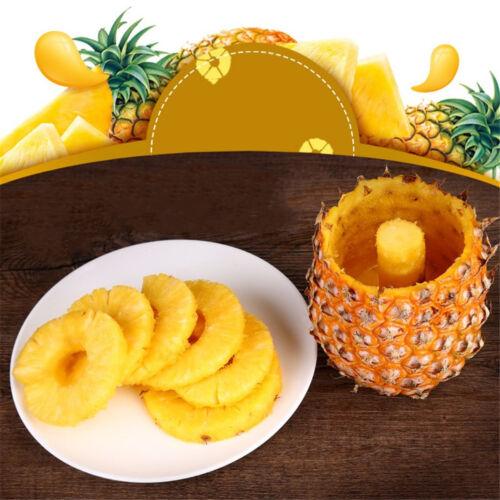 Un niveau d/'ananas Peeler Cutter Coupe Carottier Peel noyau outil fruitvegetarae WL