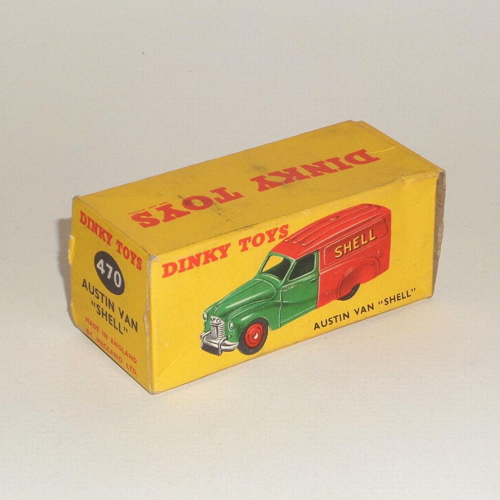 Dinky Toys 470 Empty Box - Shell Austin Van - Original