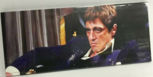 "snatch etc Gangster//Criminals Canvas 24/""x10/"" On A Wooden Frame scarface"
