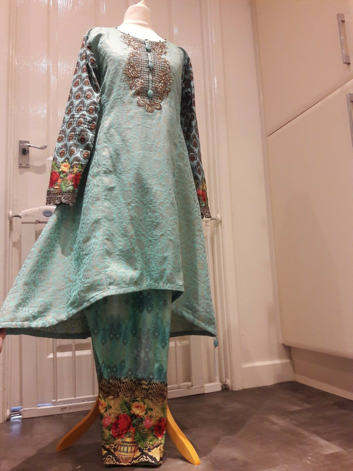 Indian pakistani designer wedding bridal  anarkali suit salwar Kameez   lengha