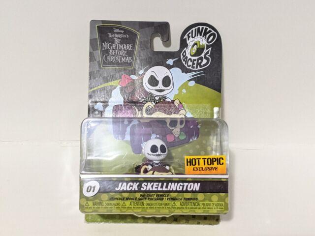 Funko Racers Jack Skellington Special Edition Disney Nightmare Before Christmas