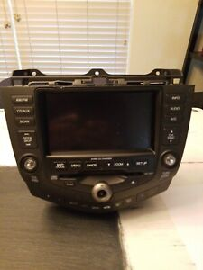 Details about 04-07 Honda Accord Navigation 6 CD Radio Climate Control  39051-SDR-A420-M1