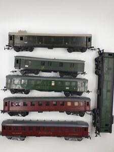 6-Personenwaggons-DR-Piko-H0-DDR-Sammlung-Bakelit-Mitropa