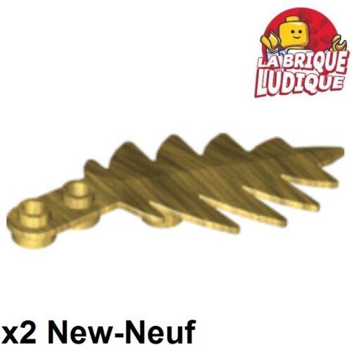 Lego 2x Pflanze tree palm Blatt Palme 8x3 or golden//pearl gold 6148 neu