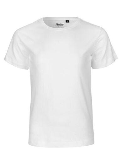 KinderT-Shirt Bio Baumwolle Fairtrade Gr.92//98-152//158 in 13 Farben NE30001
