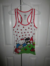 HELLO KITTY AND FRIEND HEARTS SLEEP TANK SIZE SMALL