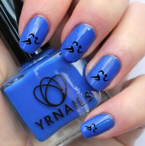 Nail Wraps Nail Art Water Transfers Decals Running Girl S568 Ebay