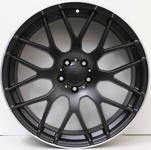 19-inch-Aftermarket-Alloy-Wheels-to-suit-Mercedes-Benz-AMG-A-B-C-amp-E-CLASS-BLACK