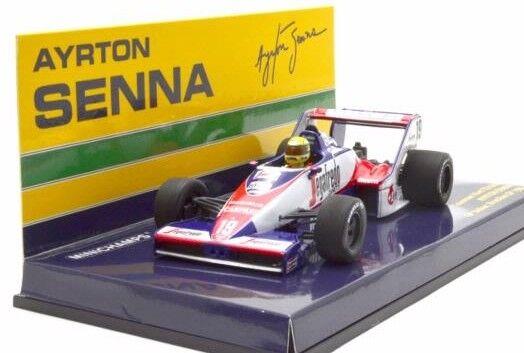 Toleman Hart Tg183B Ayrton Senna Brazilian Gp 1984 Minichamps 1 43 540844339