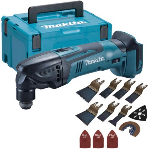 Makita DTM50Z LXT 18 V Oscillant Outil Multi-avec accessoires 39pcs Set /& makcase