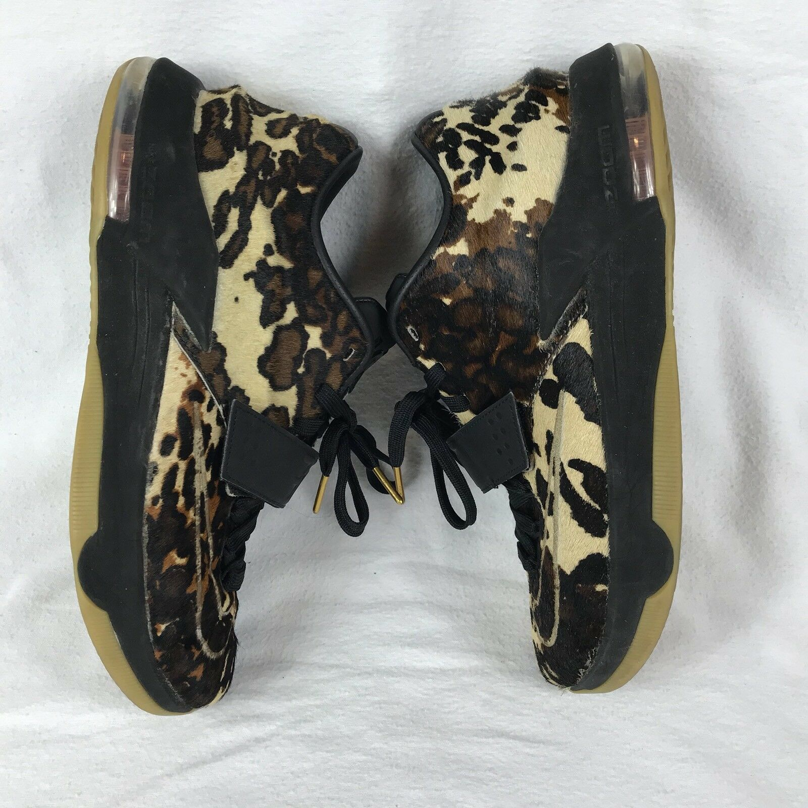 Nike State Kevin Durant 7 EXT QS Longhorn State Nike Leopard Mens Sz 10 623f00