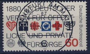 BUND Nr. 1044 Vollstempel Frankfurt Versandstelle Fürsorge 1980 - Esslingen, Deutschland - BUND Nr. 1044 Vollstempel Frankfurt Versandstelle Fürsorge 1980 - Esslingen, Deutschland