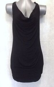 Temt-Strappy-Mini-Cocktail-Formal-Evening-Party-Dress-Cowl-Neck-Size-Small-8