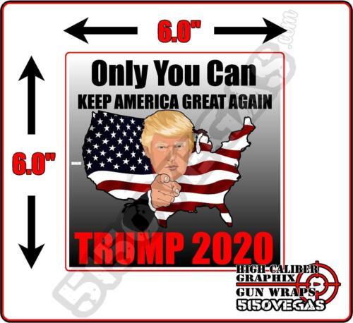 Trump 2020 President Decal Bumper Sticker Keep America Great USA Trending Hot