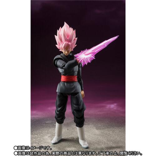 SHF Dragon Ball Z Black Goku Gokou Super Saiyan Zamasu Pink Action Figure Gifts
