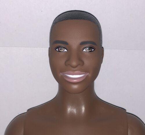 Barbie Fashionistas 2018 NUDE AA Steven Broad Ken Doll #18 Super Stripes NEW