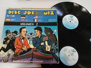 Disc-Jockey-Mix-Vol-2-3X-Triple-LP-vinyl-Vinyl-12-034-1987-G-VG-Spanisch-Edition