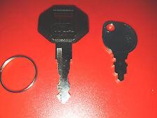 2 chiavi del tue 1 Chiave & BOSCH JCB MASTER nesan BOSCH Vermeer Ford Holland 14607