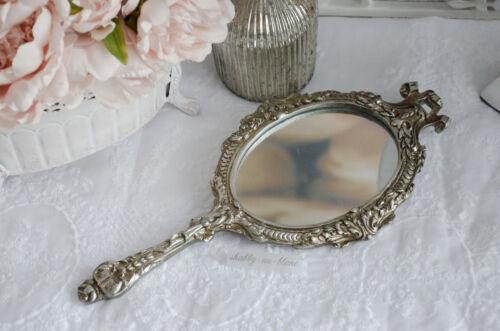 Handspiegel Spiegel Frisierspiegel Shabby Chic Brocante Vintage Landhaus