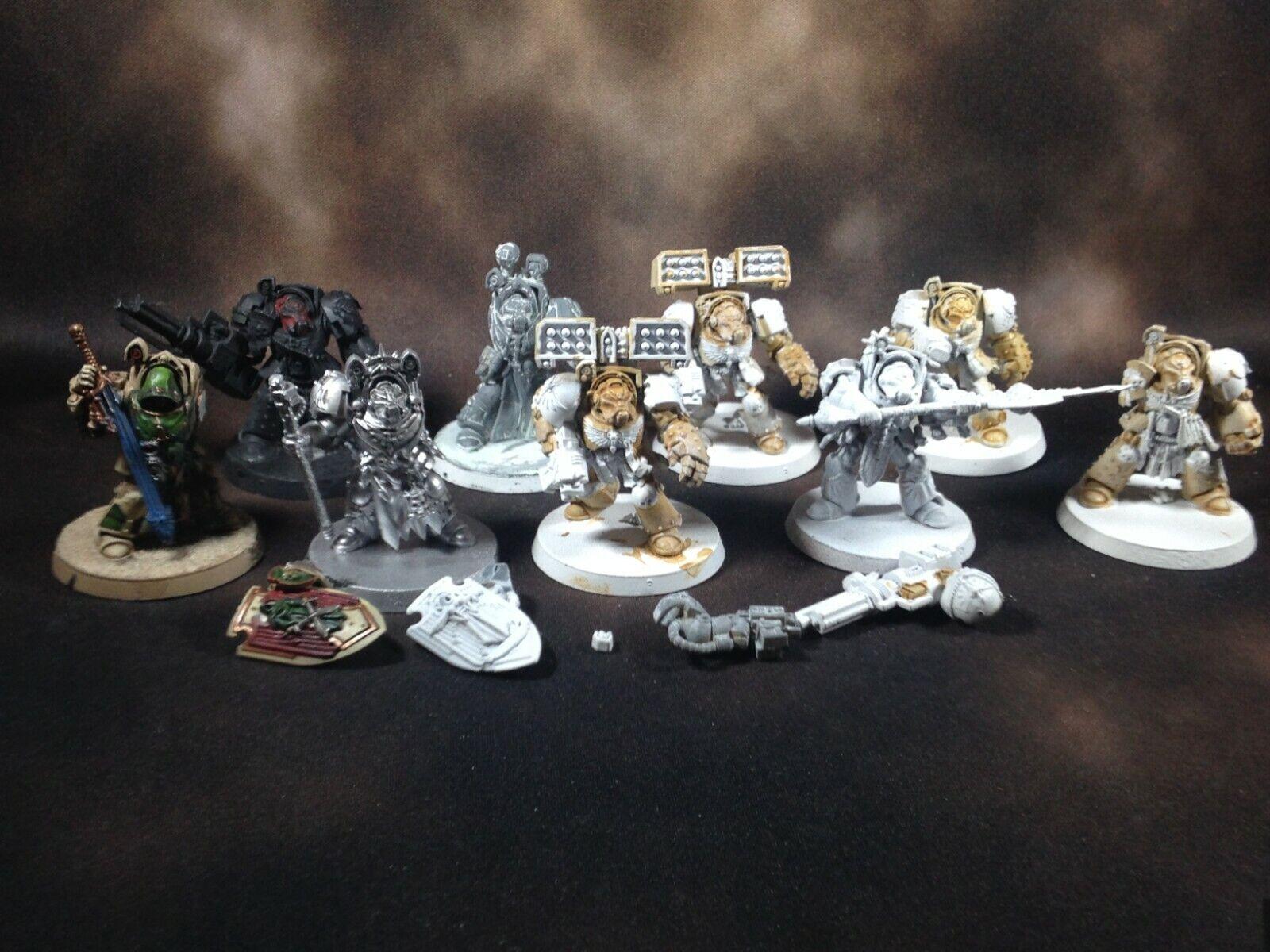 Warhammer 40k Space Marines Dark Angels Terminators