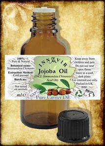 100-Pure-Golden-Unrefined-Jojoba-Oil-100ml-50ml-30ml-10ml-10-FREE-5ml