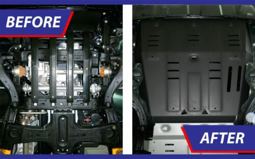 Unterfahrschutz Kühler Motorschutz aus Stahl für VW Amarok ab 2010