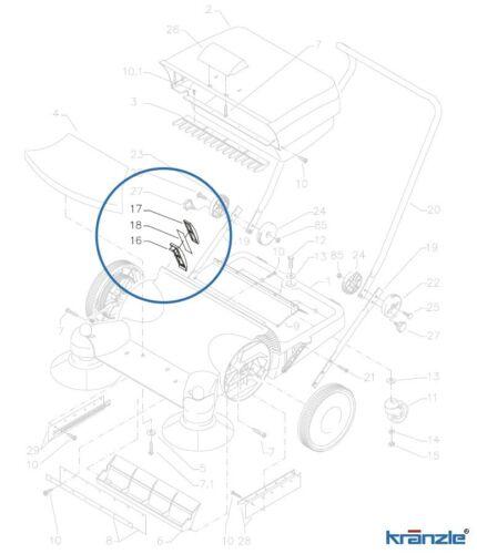 2 Karen de reparacion kit filtro cartucho cpl para barredora 2