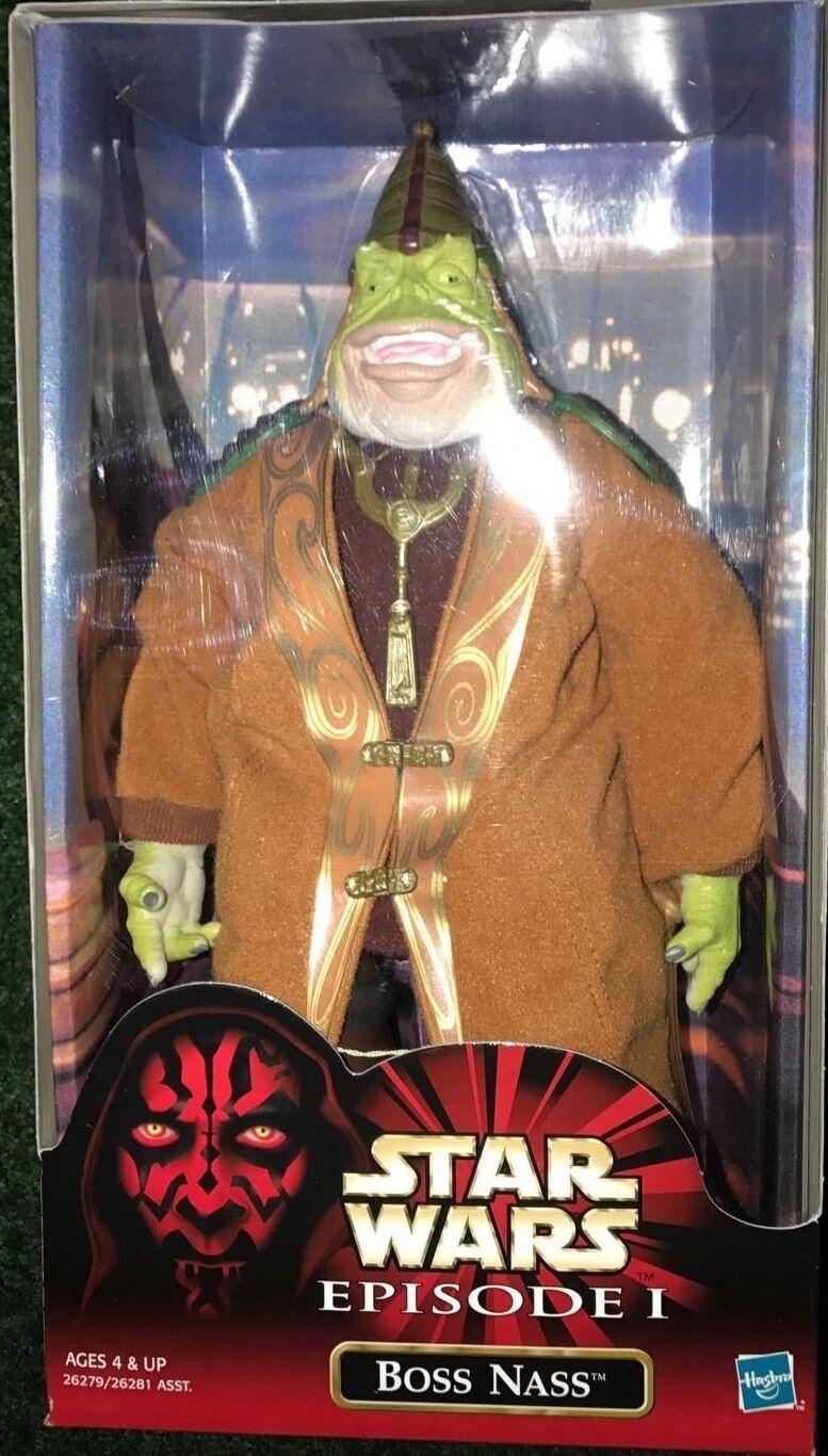 Star Wars Episode 1 Boss Nass 12 inch Figure Hasbro