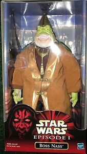 Star Wars Episode 1 Boss Nass 12 inch Figure Hasbro