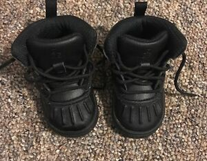 new concept 10b66 b4609 Image is loading Black-Nike-Toddler-Black-ACG-Boots-Size-5-