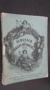 Almanach de La Tienda Escénico Demuestra 1878 a Las Oficina París ABE