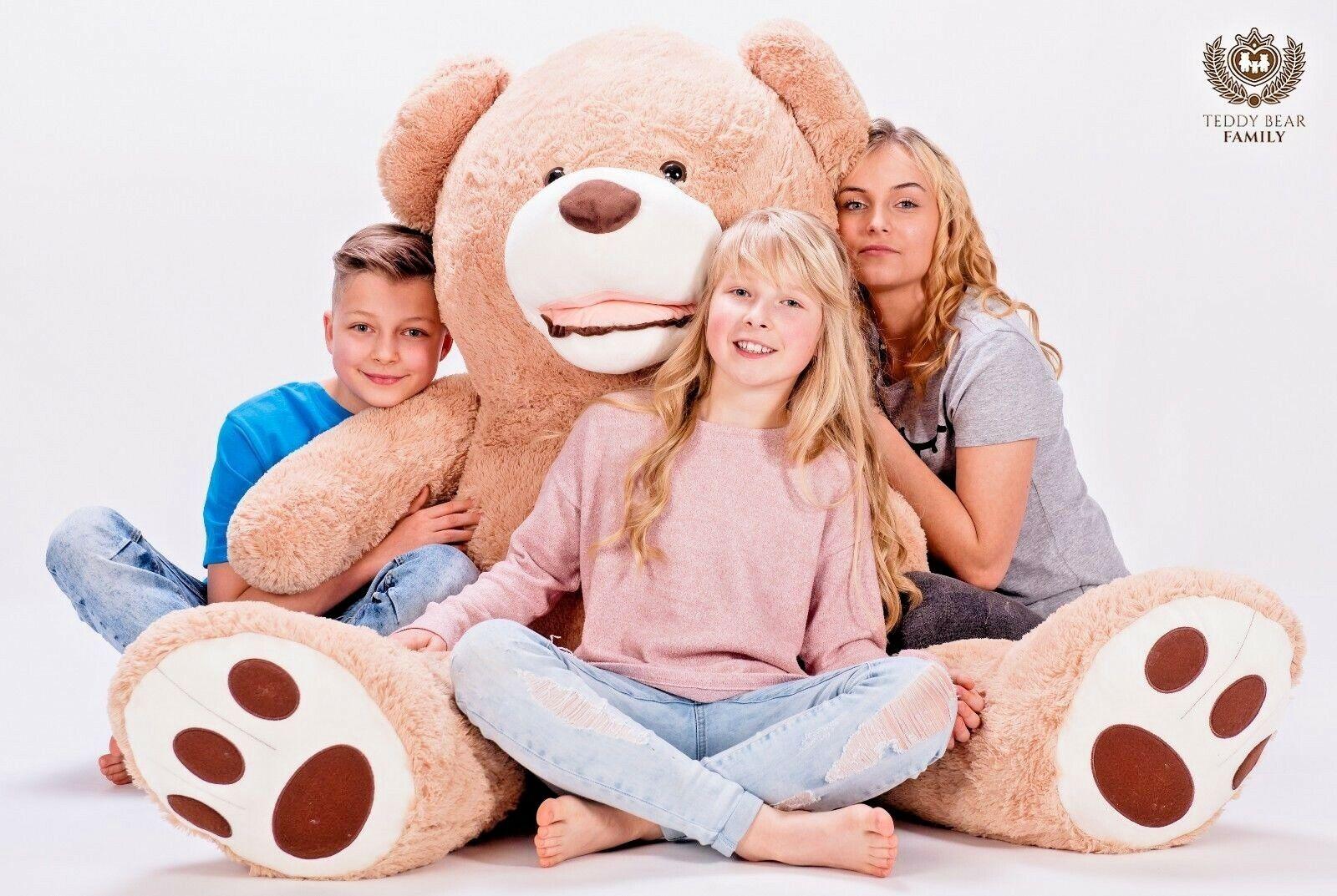 Teddybär XXL 160 cm Riesen Stofftier Plüschtier Groß XL Teddy Bär Geschenke idee  | Ausgang