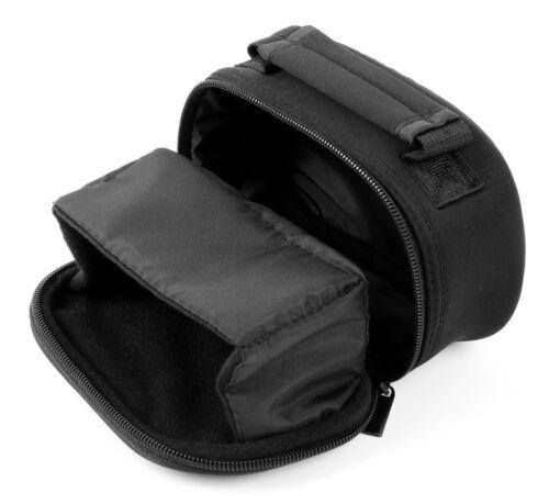 dmc-ft30 /& dmc-tz57 Neopreno llevar Funda En Color Negro Para Panasonic Lumix dmc-tz70