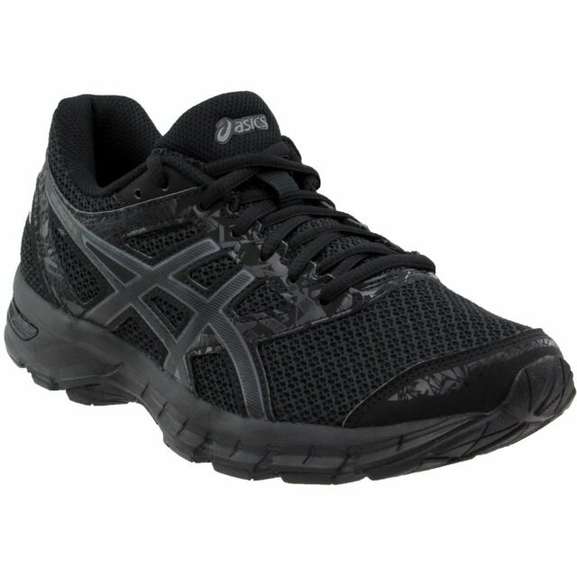16c7bf9b8 ASICS Mens Gel-excite 4 Running Shoe Black carbon black Size 10 for ...