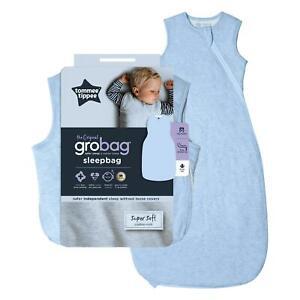 Tommee-Tippee-el-original-Grobag-baby-sleeping-bag-18-36m-1-0-Tog-azul-jaspeado