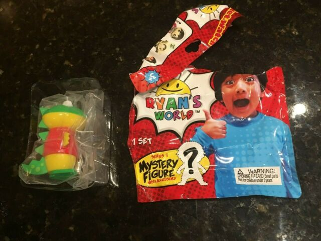 Ryans World Toy Review Mystery Blind Bag PILOT GUS Gator Figure NO ACCESSORY