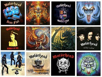 MINIATURE Non Playable VINYL LP RECORD ALBUMS - MOTORHEAD - VARIOUS TITLES  | eBay