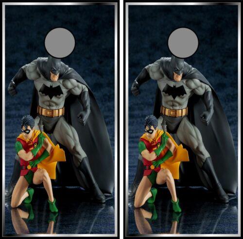 Batman /& Robin 0350 Cornhole board game vinyl wraps stickers posters decals gift