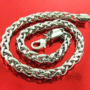 FS405A-GENUINE-18K-WHITE-GF-GOLD-SOLID-CLASSIC-SNAKE-DESIGN-LINK-BRACELET-BANGLE