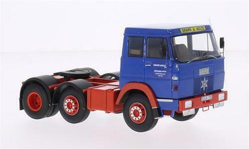 Hanomag Henschel F201 azul rojo 1 43 Neoscale NEO45310 Miniature