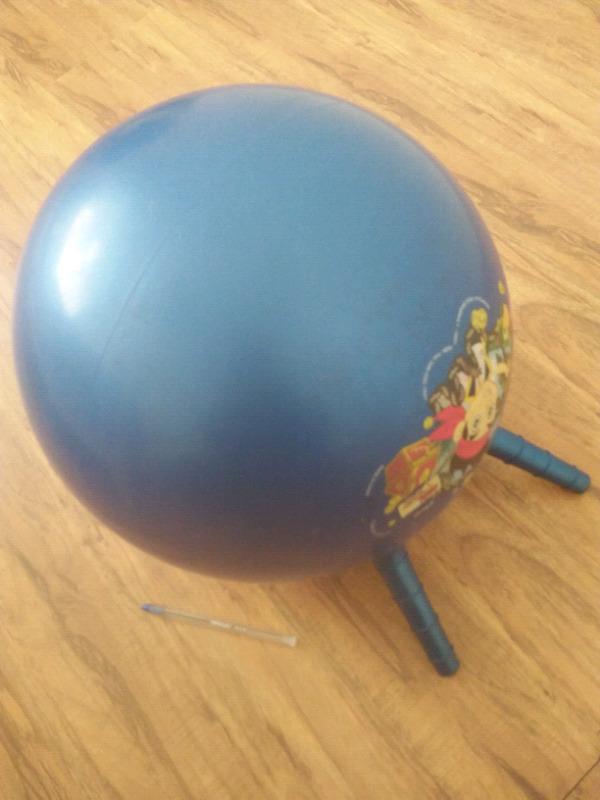 Kids bouncing ball