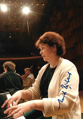 Entertainment Memorabilia Dependable Marita Viitasalo Pianist Signed 8x12 Inch Photo Autograph Elegant And Sturdy Package Music