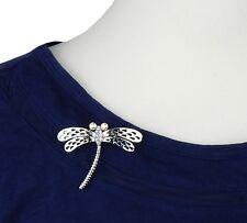 Statement Brosche Libelle silber filigran by Ella Jonte brooch dragonfly new in