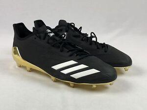 adidas Cleats Black/Gold Used Multiple