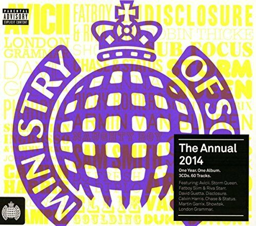 1 of 1 - Various Artists - The Annual 2014 - Various Artists CD VOVG The Cheap Fast Free